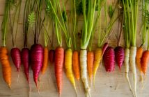 Local heirloom carrots