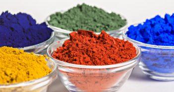 Natural paint pigments