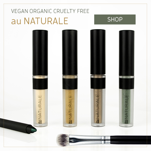 Vegan organic cruelty free makeup by Au Naturale