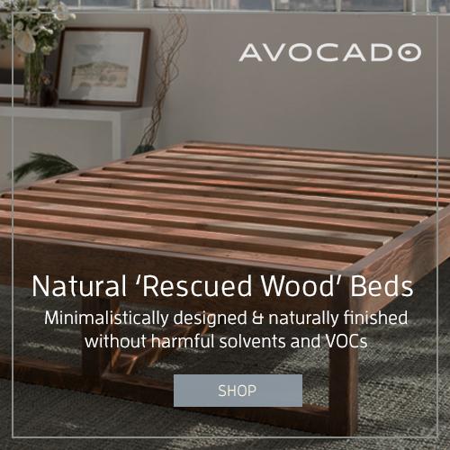 Avocado Reclaimed Bed Frame