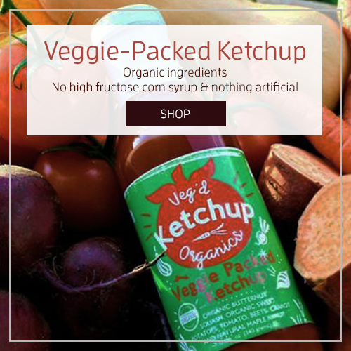 Better Ketchup with Veggies