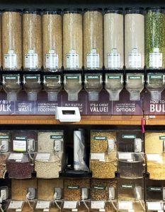 Bulkfood bins to reduce plastic packaging