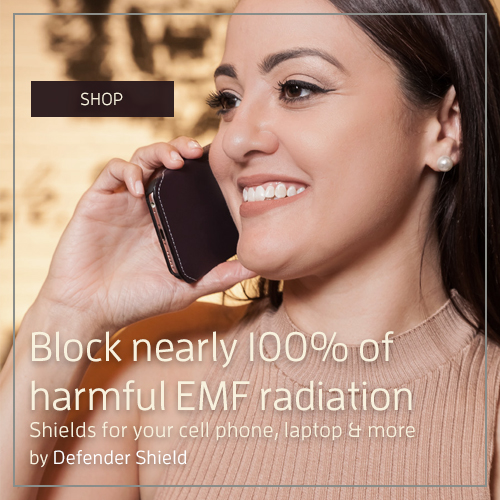 Block Cell Phone Radiation by Defender Shield