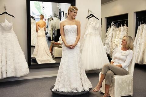 Eco-chic wedding dress