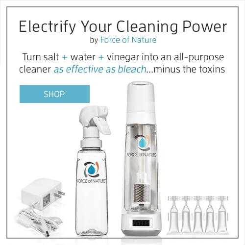 Force of Nature Nontoxic vinegar and salt water cleaner