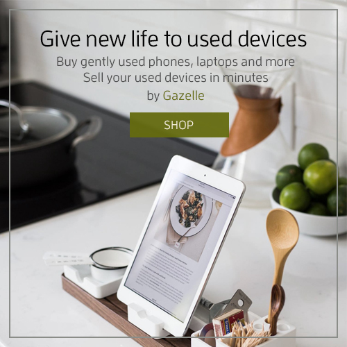 Used iPhones, tablets and laptops by Gazelle