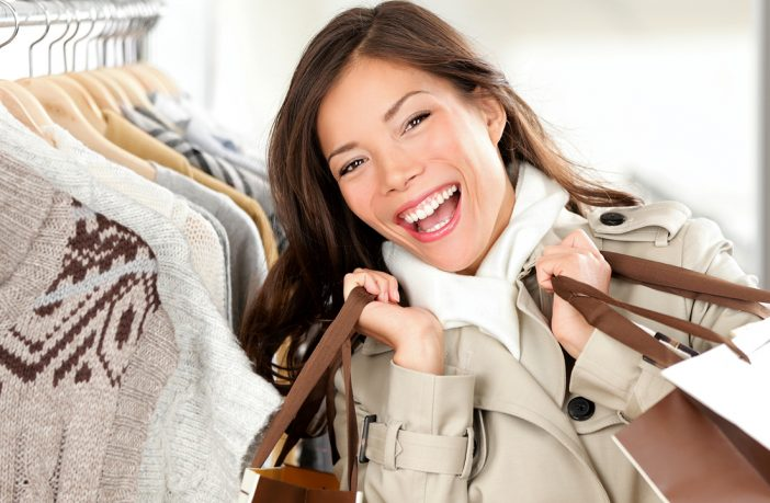 Consignment shopping for luxury brands