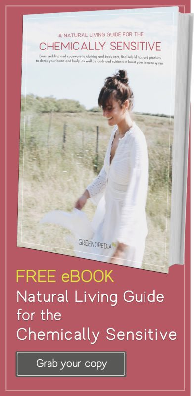 Free eBook - Natural Living Guide for the Chemically Sensitive