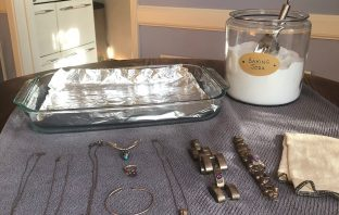 DIY Toxin-free silver cleaner
