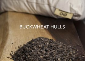 Organic Buckwheat Hulls Pillow