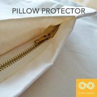 Organic Cotton Pillow Barrier Protector