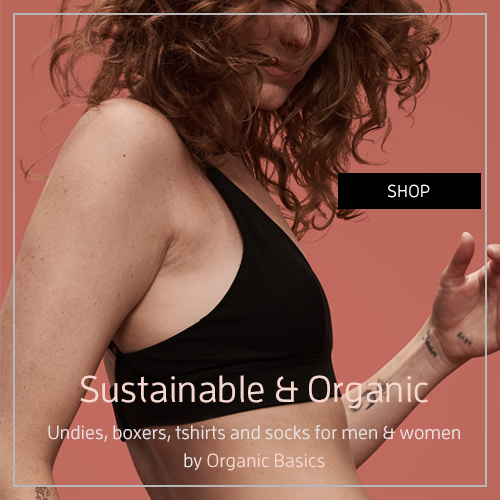 Bras and Undies by Organic Basics