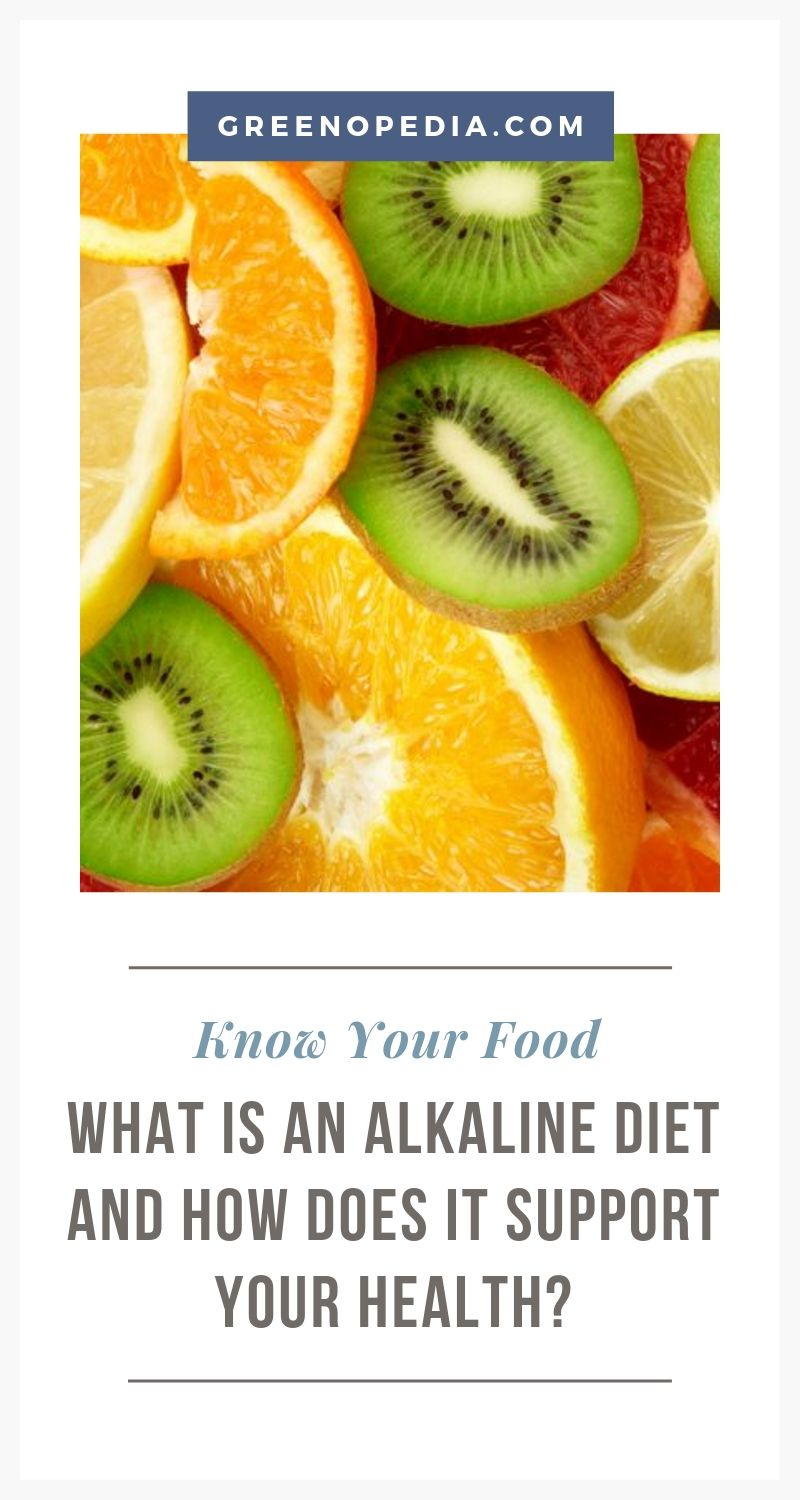 The Benefits of an Alkaline Diet | We shouldn't eliminate acidic foods altogether. As a general rule, an alkaline diet is roughly 60-80% alkaline-forming foods and 20-40% acid-forming foods. | Greenopedia #alkalinediet via @greenopedia