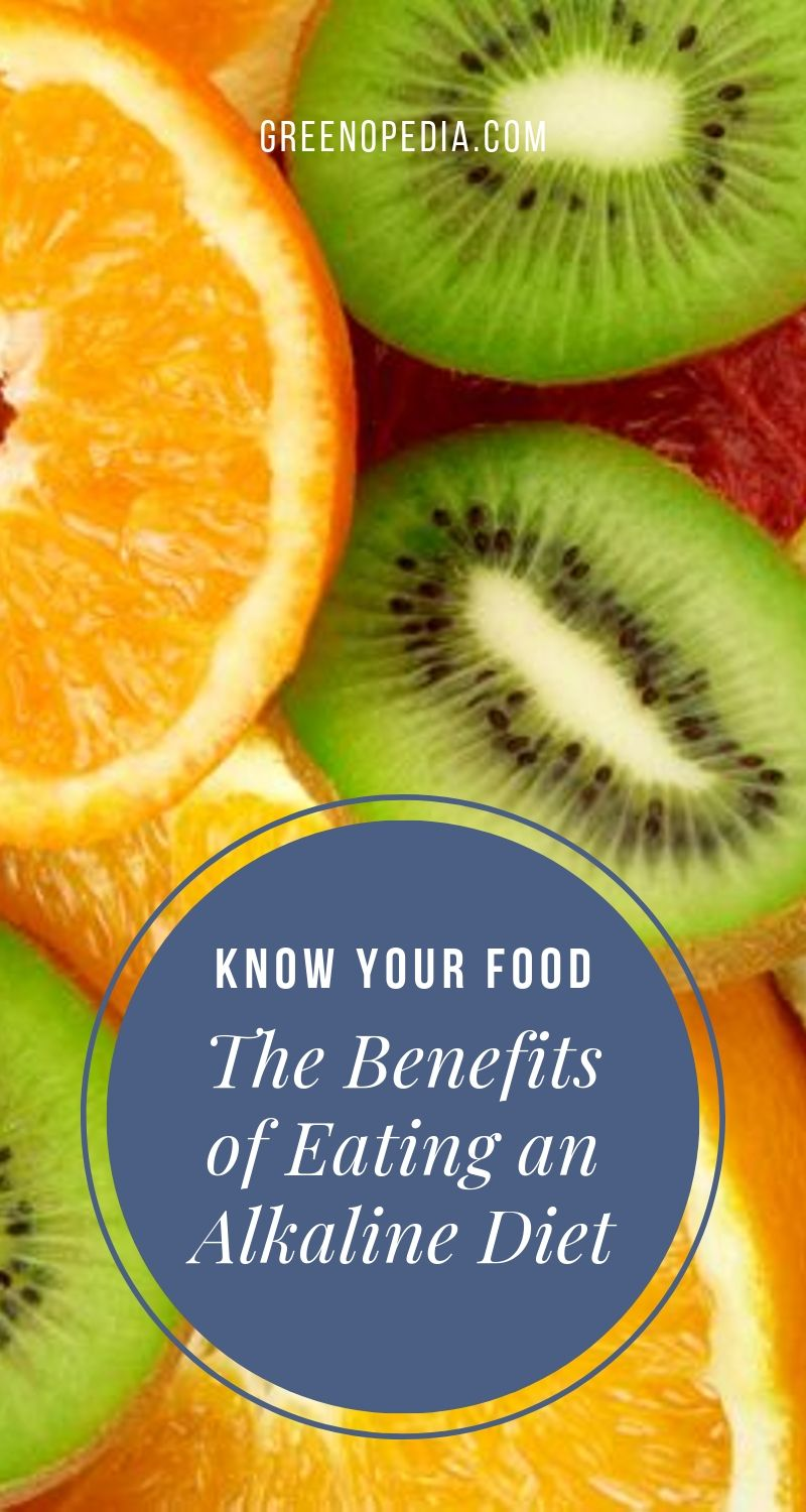 The Benefits of an Alkaline Diet   We shouldn't eliminate acidic foods altogether. As a general rule, an alkaline diet is roughly 60-80% alkaline-forming foods and 20-40% acid-forming foods.   Greenopedia #alkalinediet via @greenopedia