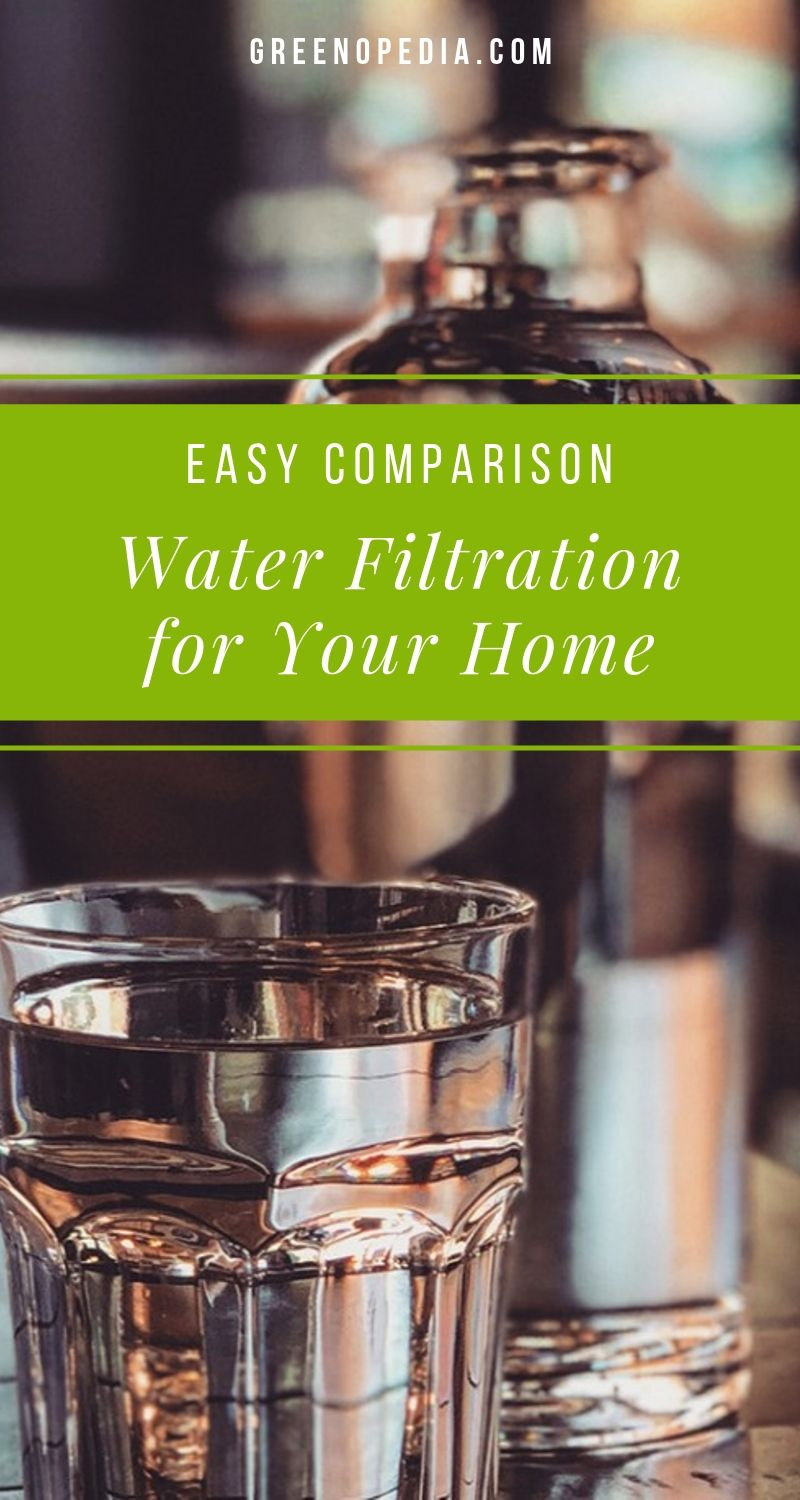 Which Water Filtration System Is Best For Your Home? (Easy Comparison) | Local water companies are supposed to filter these contaminants before they reach our home, but they don't catch everything. And sometimes they miss a lot. | Greenopedia #Waterfilters #Waterfiltration #waterpurification via @greenopedia