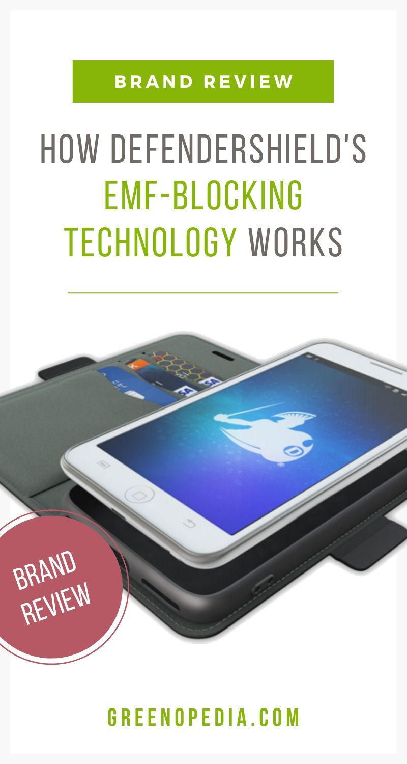 BRAND SPOTLIGHT: DefenderShield's EMF Blocking Technology | DefenderShield's technology blocks up to 99% of harmful EMF radiation across the full frequency spectrum, including ELF and RF emissions. Here's how. | Greenopedia #EMFblocking #EMFexposure #EMFradiation #EMFprotection via @greenopedia
