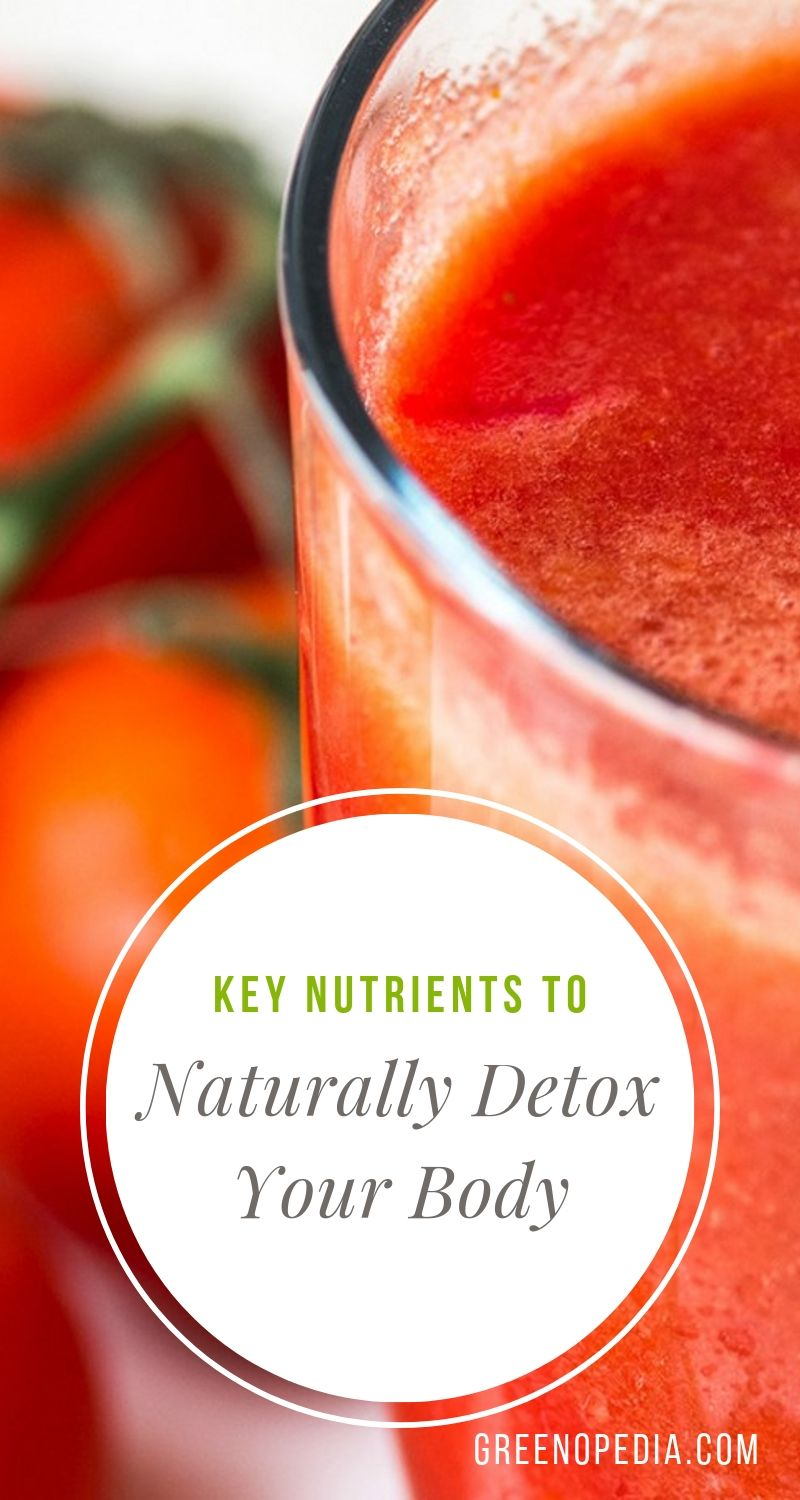 These Key Nutrients Help to Detox Our Body Naturally. Here's What to Eat. | Our bodies are always in detox mode, even when we're not on a regimented cleanse. There are some key nutrients our body needs to facilitate its natural detox process and it's a good idea to make sure we're getting enough of them. | Greenopedia #detoxnutrients #detoxfoods via @greenopedia