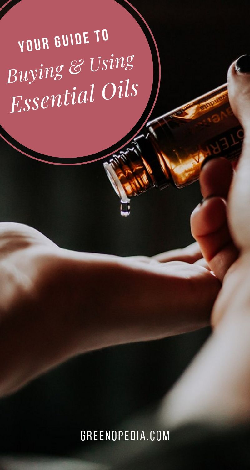 Your Guide to Buying High-Quality Essential Oils & Using Them Safely | Did you know it can take thousands of plants to produce a single bottle of essential oil? These aromatic extracts are highly concentrated & incredibly potent. | Greenopedia #essentialoils via @greenopedia