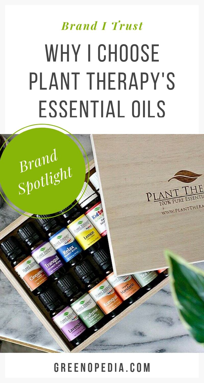 BRAND SPOTLIGHT: High-Quality Essential Oils by Plant Therapy | Plant Therapy is known for the quality and purity of their essential oils, as well as for their carefully crafted KidSafe line. See why. | Greenopedia #PlantTherapyEssentialOils via @greenopedia