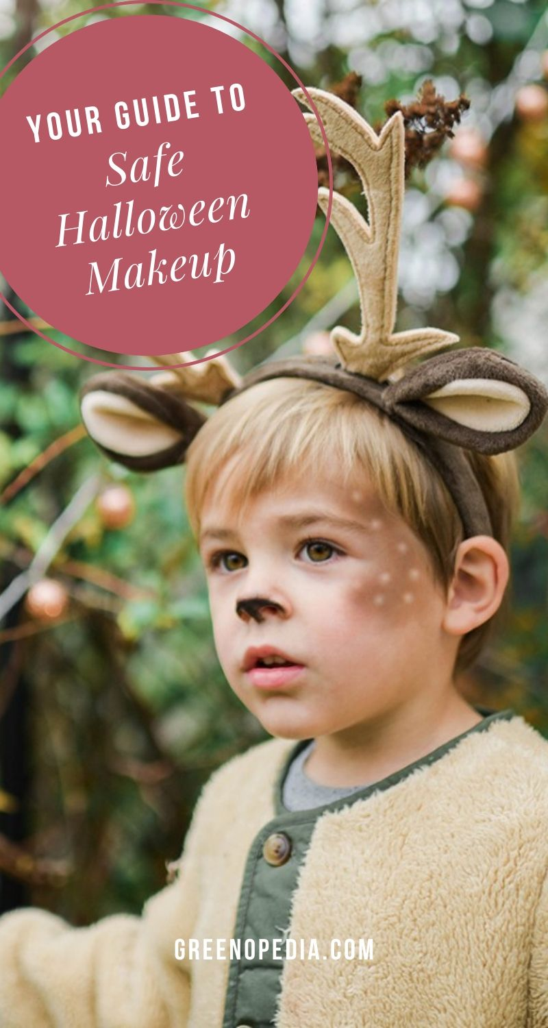 Did you know Halloween face paints labeled as 'safe', 'FDA-approved', 'hypoallergenic or 'non-toxic' can still have dangerous, skin-irritating metals such as lead, nickel, cobalt & chromium? Just what you want seeping into your kid's pores as they run around from house to house collecting their sugary treats, right? Here's how to skip the toxic junk & find natural Halloween makeup from plant-based ingredients and minerals that have been tested to be free from contaminants. via @greenopedia