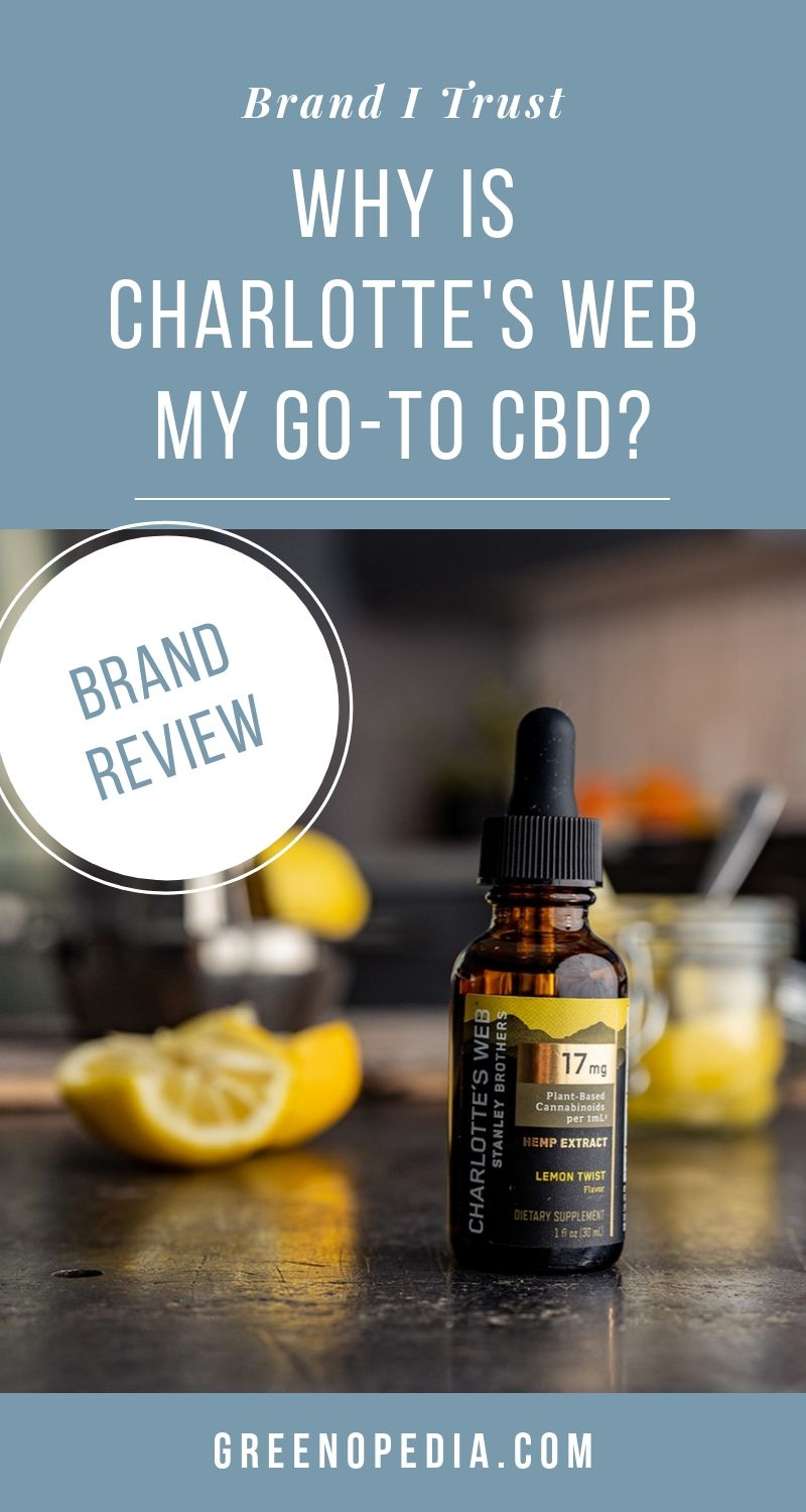 BRAND SPOTLIGHT: Charlotte's Web Whole-Plant Hemp Extracts with CBD Oil | After doing some heavy research, I can see why Charlotte's Web has built such a strong reputation of transparency and trust for its hiqh-quality CBD. | Greenopedia #Charlotte'sWebCBD via @greenopedia