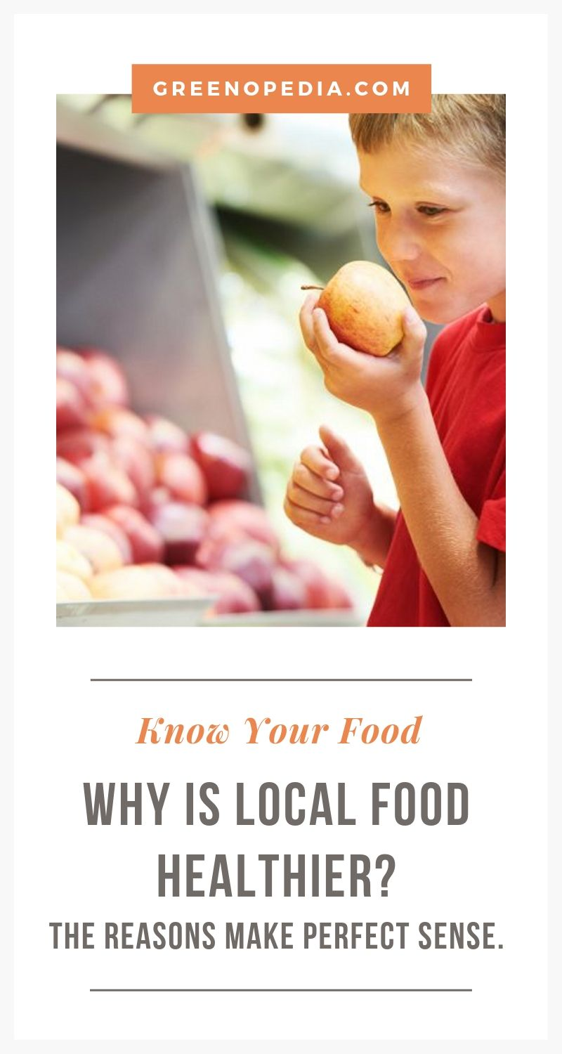 Eating Local Food is Actually Healthier. Here's Why... | Check out the benefits of eating local food plus a few handy tips. And use our helpful directories find a farmer's market or CSA subscription near you. | Greenopedia #localfood via @greenopedia