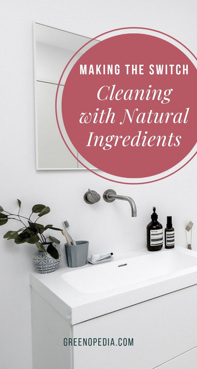 How to Say Goodbye to Bleach and Ammonia... and Hello to (Truly) Natural Cleaners | Turns out, the natural cleaners were far easier, healthier, and less expensive than I could have imagined. I only wish I'd have made the switch sooner. | Greenopedia #naturalcleaners #naturalcleaningproducts #naturalDIYcleaners # via @greenopedia