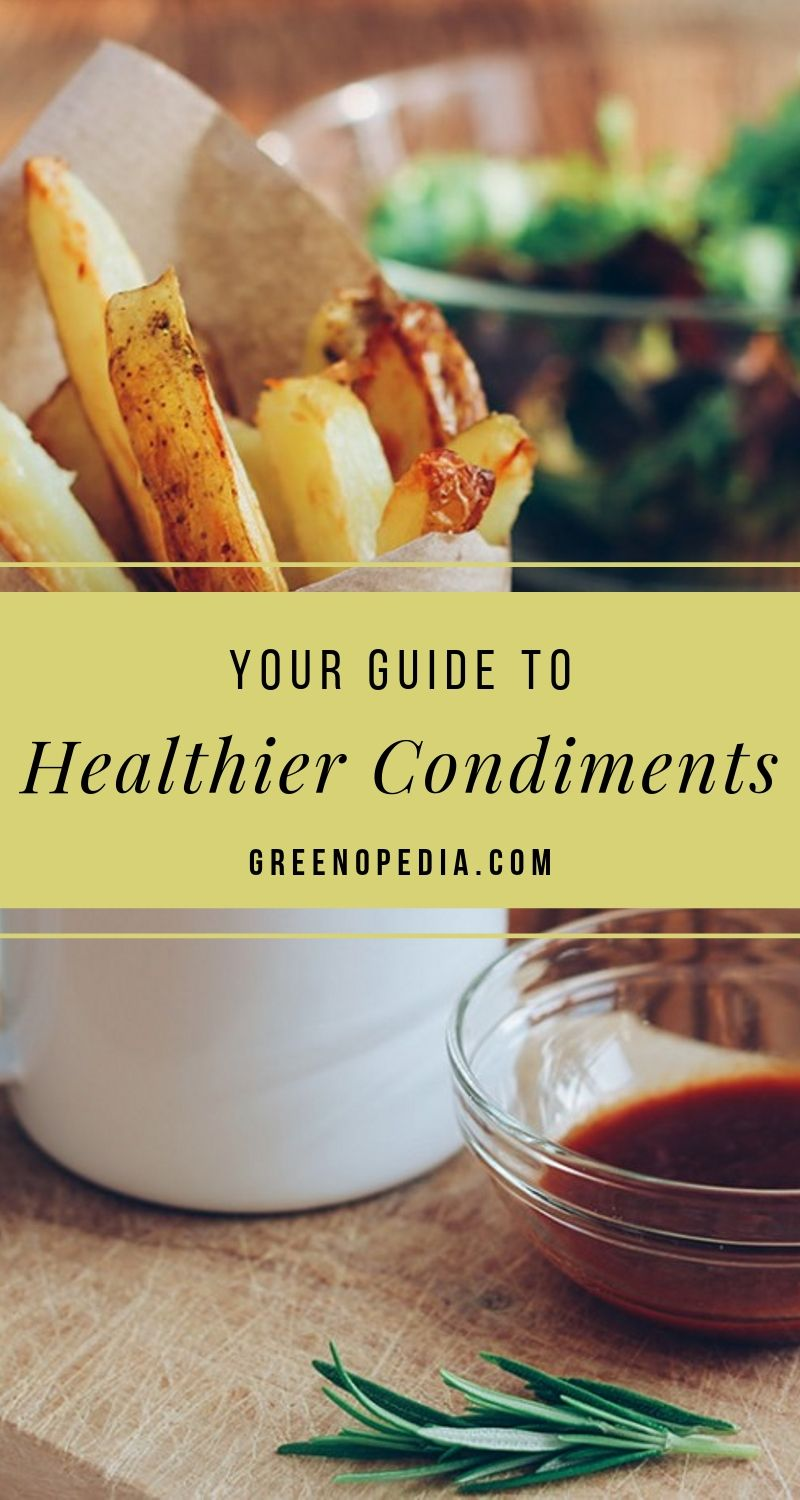 Healthier Condiments from Real Food Ingredients? Count Me In! | What makes up the healthier versions of salt, ketchup, mayo, steak sauce, and other natural condiments? Vitamins, minerals, and phytonutrients, my friend. | Greenopedia #healthiercondiments #healthierketchup #healthiersalt #seasalt via @greenopedia