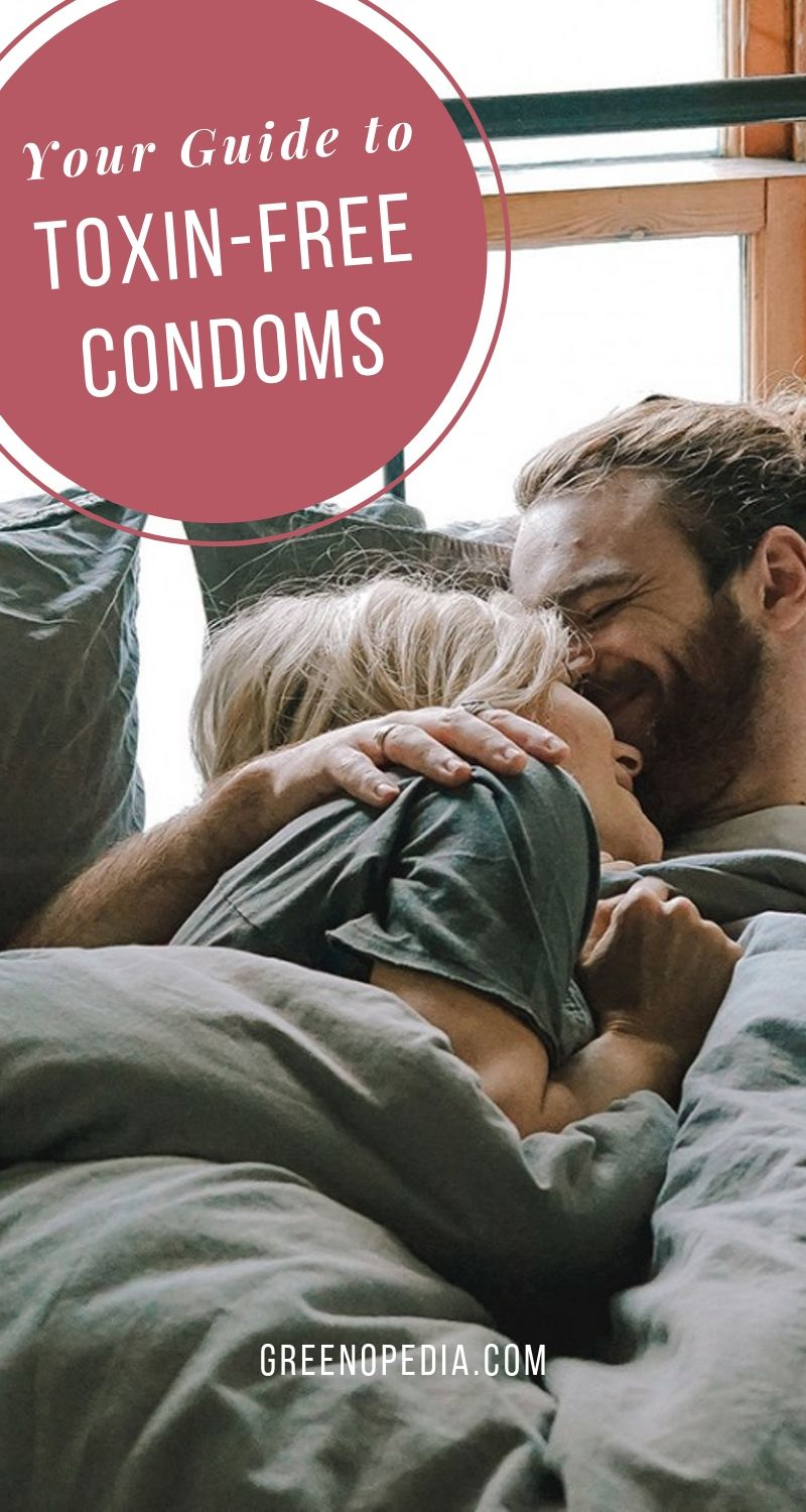 Your Guide to Toxin-Free Condoms... for Truly Safer Sex (Keep Your Genitals Healthy!) | Safe sex talks usually center around unplanned pregnancy & STIs. It's time to add natural latex condoms & non-toxic lubes to the conversation. Here's what you need to know. | Greenopedia #Naturallatexcondoms #Naturalcondoms #healthiercondoms via @greenopedia