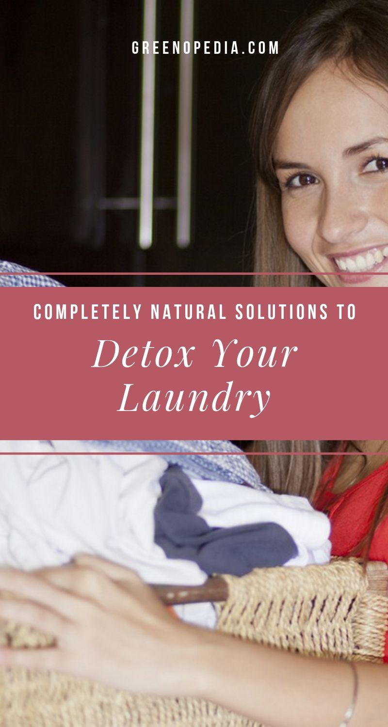 Get the Scoop on Natural Laundry Detergents, Softeners, and Whiteners | That fresh scent on your laundry is often the chemical residue left behind from detergent, bleach or softener. Natural laundry alternatives are easy, affordable, and nontoxic. | Greenopedia #naturallaundry #nontoxiclaundry #naturaldetergent #naturalbleach #naturalfabricsoftener via @greenopedia