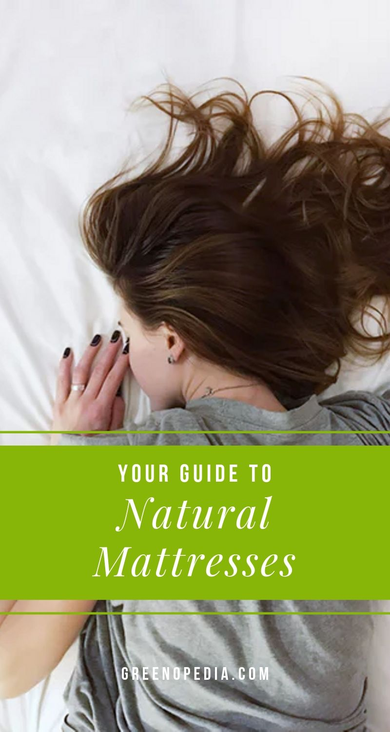 Buying Guide: What's in a Truly Natural Mattress and How do I Find One? | A natural, non-toxic mattress is typically made from a natural latex (rubber) core, organic cotton batting, a fire protective wool layer and cotton ticking. | Greenopedia #nontoxicmattress #healthymattress #organicmattress via @greenopedia