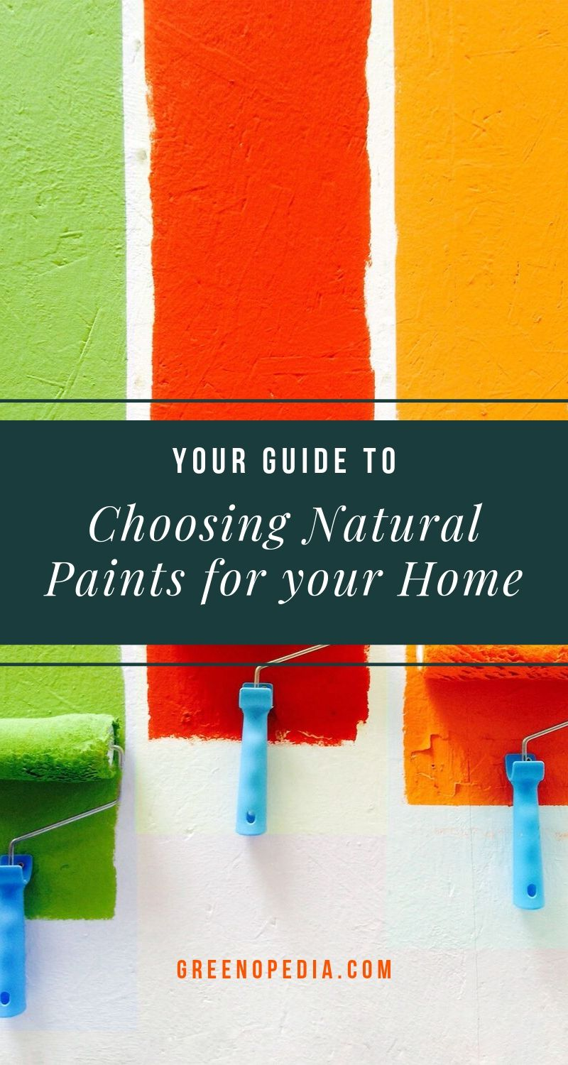 Choosing Natural Paints For Your Home | Natural paints are made with plants, milk protein, or clay. And tung, walnut, and hemp oils, as well as carnauba and beeswax are safer stains and finishes. | Greenopedia #naturalpaints #plantbasedpaints #naturaloilstains via @greenopedia