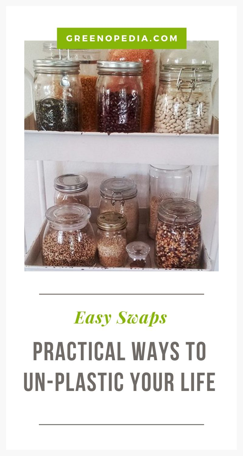 Easy Ways to Wean Yourself from Plastic (Beyond the Obvious)   We may never rid ourselves of plastic entirely, but there are plenty of plastic-free alternatives that are pretty easy to swap out.   Greenopedia #plasticfree #plasticalternatives via @greenopedia