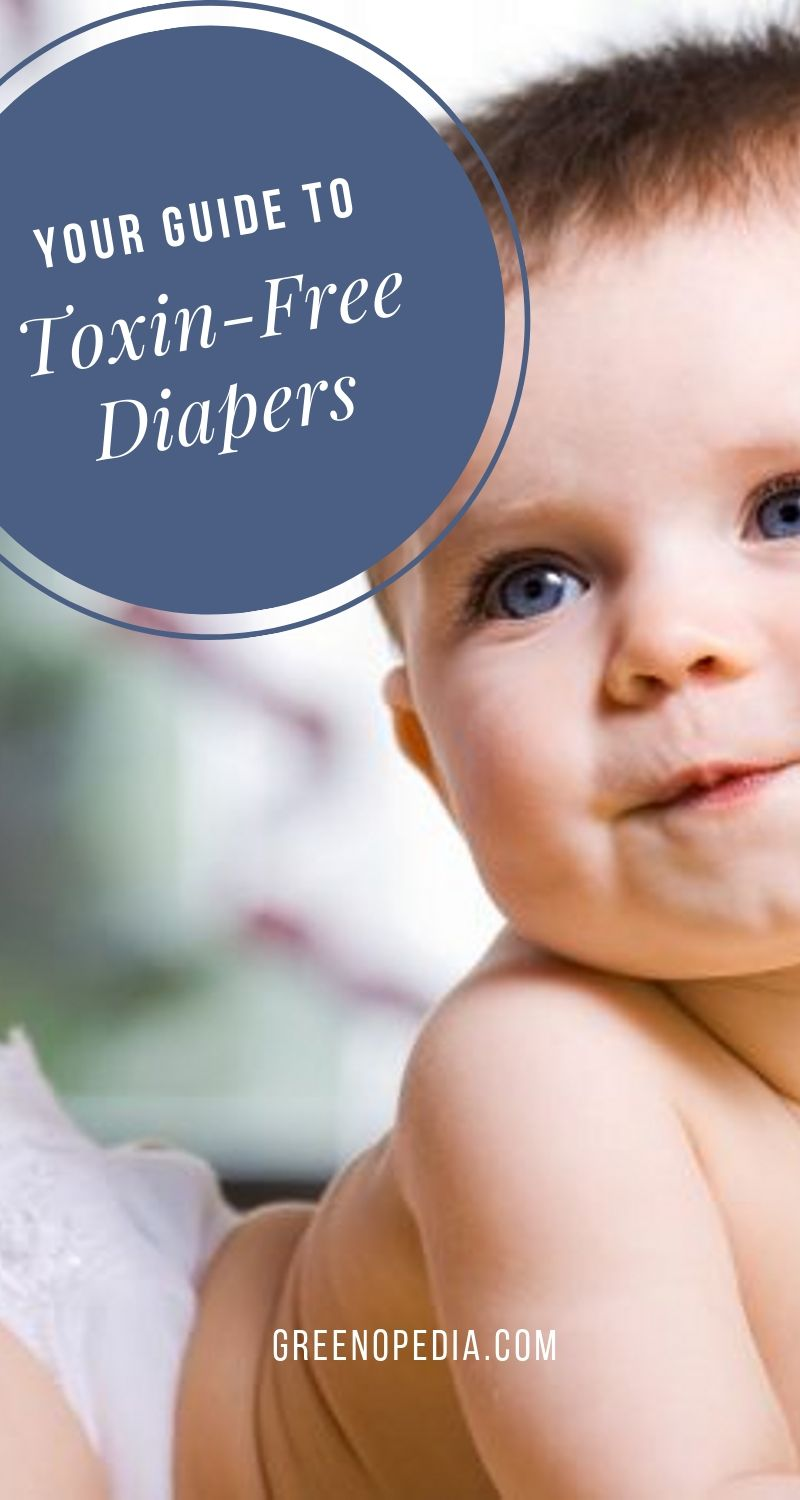 Preventing Diaper Rash with Healthy, Chemical-Free Diapers | Parents that struggle to get rid of their baby's diaper rash or yeast infection often find that switching to chemical-free diapers do the trick. Here's how. | Greenopedia #healthydiapers #chemicalfreediapers via @greenopedia