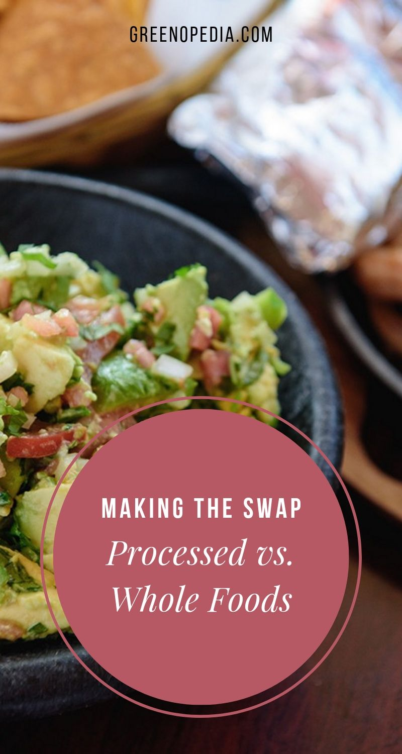 Think Outside the Box: Swap Out Processed Foods with Real Food, One Step at a Time | Replacing processed foods with real, fresh foods is the ultimate goal, but it can be daunting. There are a few simple ways to make the transition easier. | Greenopedia #processedfood #realfood #freshfood #processedfood via @greenopedia