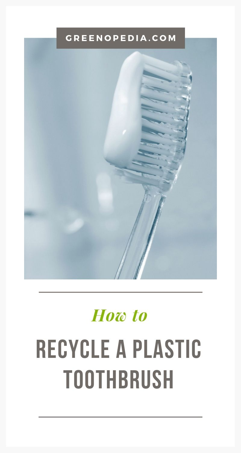 How to Recycle a Plastic Toothbrush via @greenopedia