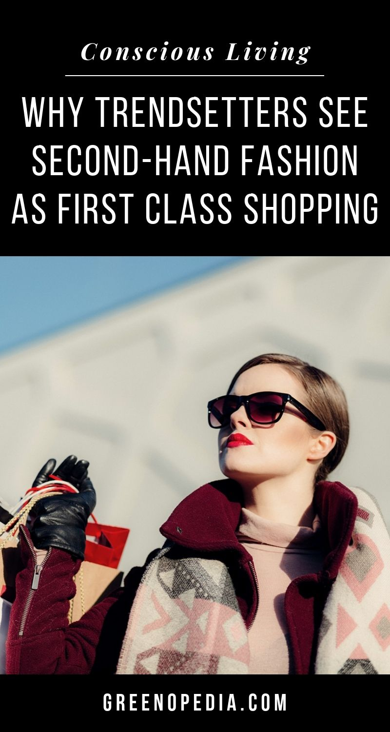 Why Second-Hand Fashion Is First Class Shopping | Consignment shops, vintage boutiques and innovative startups have made second-hand fashion completely en vogue. And luxuries abound. | Greenopedia #secondhandfashion via @greenopedia