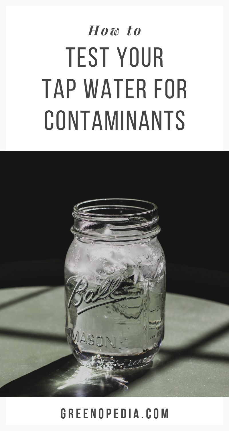 The Most Effective Ways To Test Your Home's Tap Water For Common Contaminants | Despite strict EPA standards, we still end up with vast amounts of pollutants in our drinking water. Here are ways to test your water and what you may find. | Greenopedia #Testwater #watertest #waterfiltration #waterpurification via @greenopedia