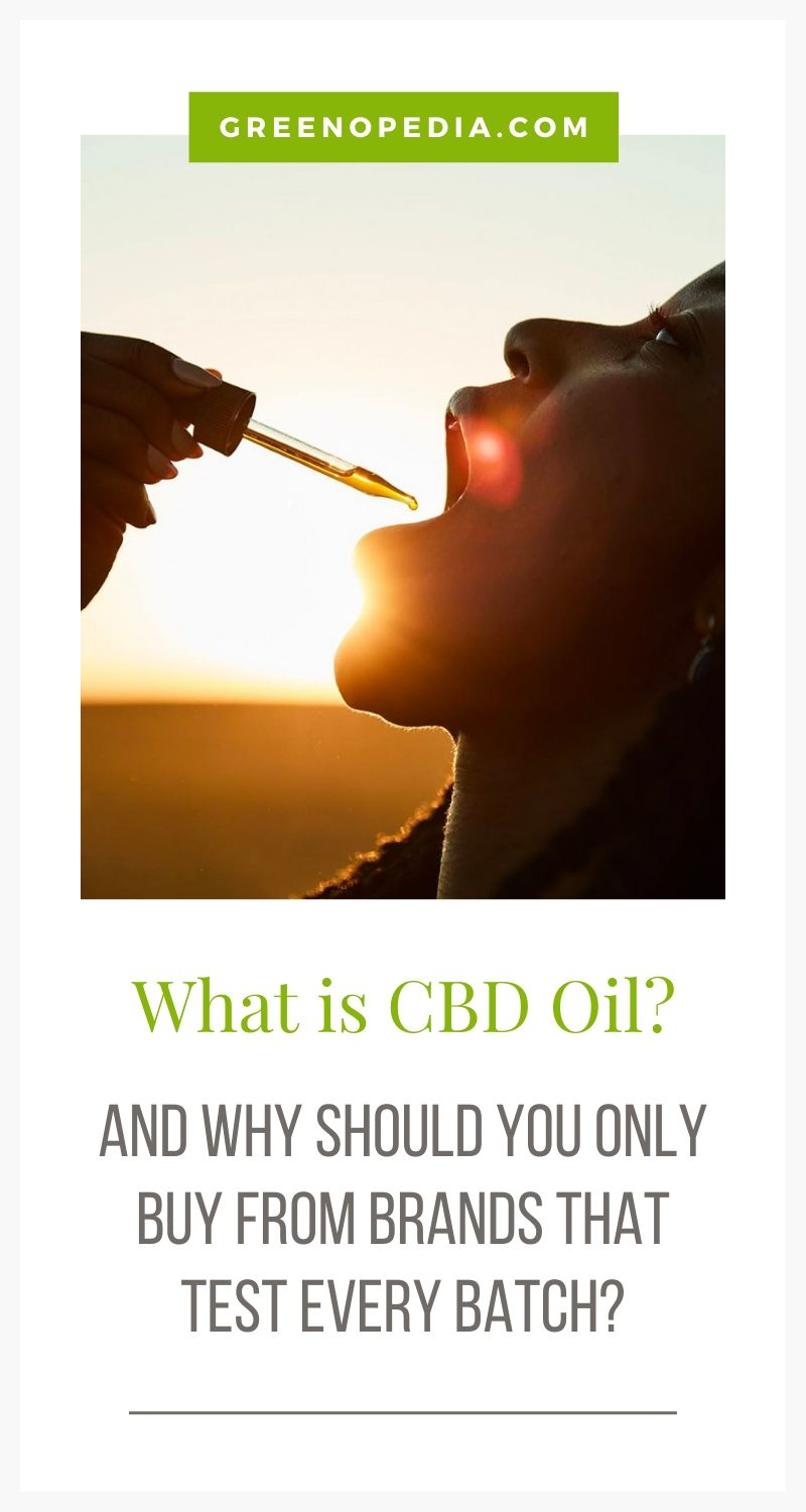 CBD is just one of the cannabinoids found in hemp (and marijuana) plants. Learn why a full-spectrum hemp extract is actually better than CBD oil alone. | Greenopedia #cbdoil #cannabinoid #broadspectrumhempoil via @greenopedia