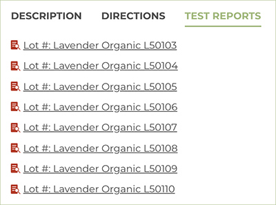 Plant Therapy Essential Oils Test Results