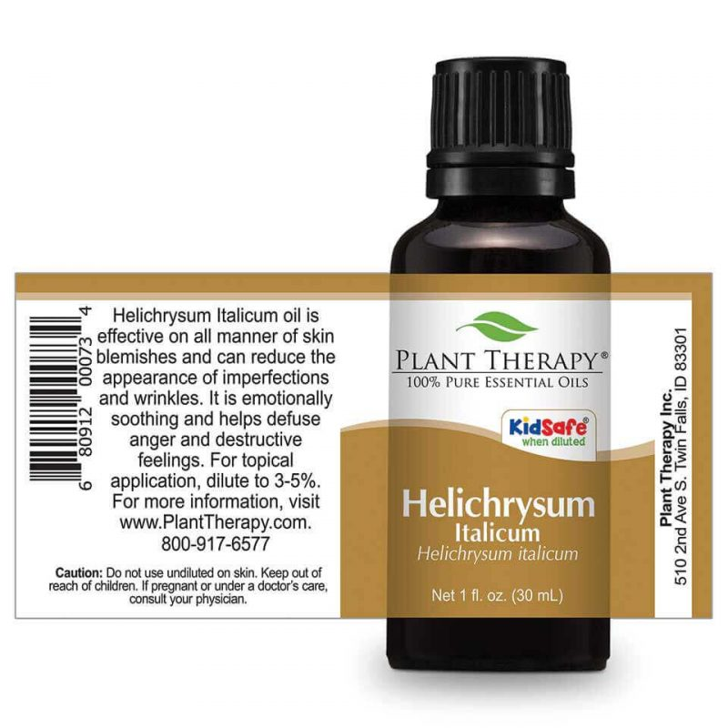 Plant Therapy Helichrysum Essential Oil