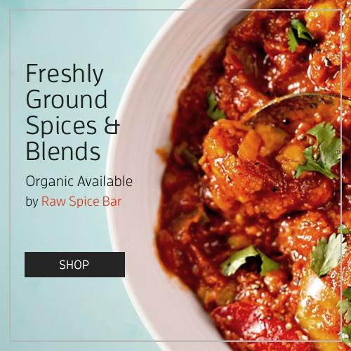 Organic Spices by Raw Spice Bar