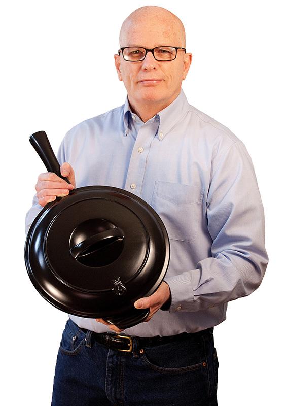 Rich Bergstrom, founder of Xtrema Ceramic Cookware