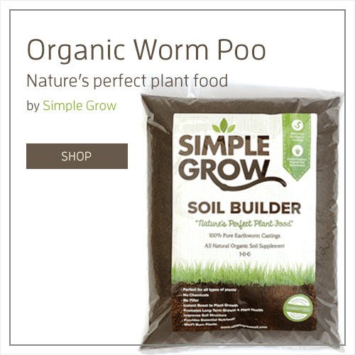 Simple Grow Organic Worm Poo