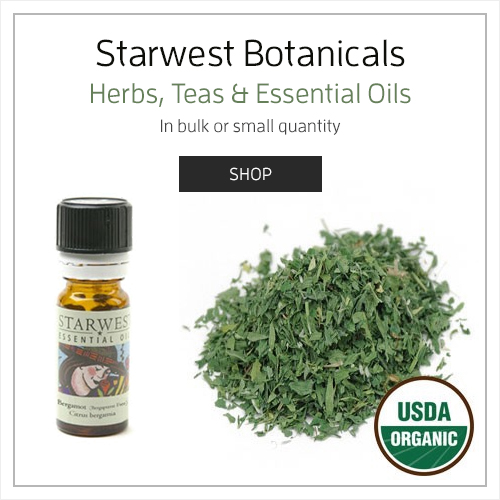 Herbs, Teas, and Essential Oils by Starwest Botanicals