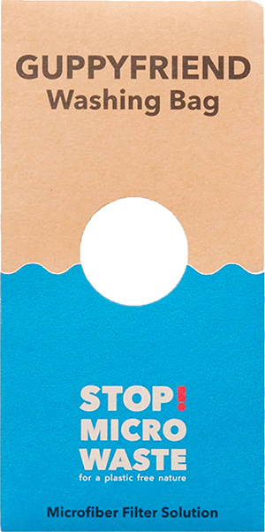 Stop Micro-Waste, Guppy Bag